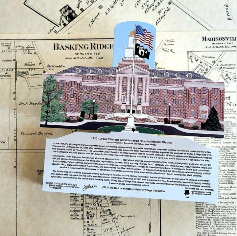 Honor the beauty and the history of the famed Lyons VA Campus in Bernards Township New Jersey