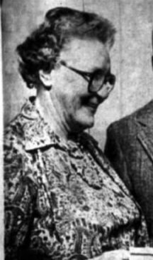 First woman mayor of the boroughs of Peapack & Gladstone. Mary Hamilton, the longest serving mayor in twin borough history,