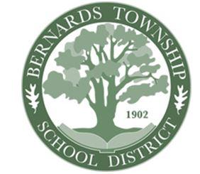 The Bernards Township School District logo honors the Basking Ridge Oak tree