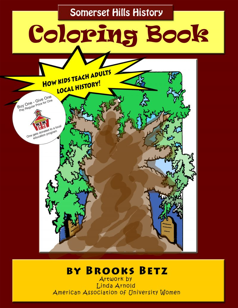 Mr Local History Coloring Book of the Historic Somerset Hills