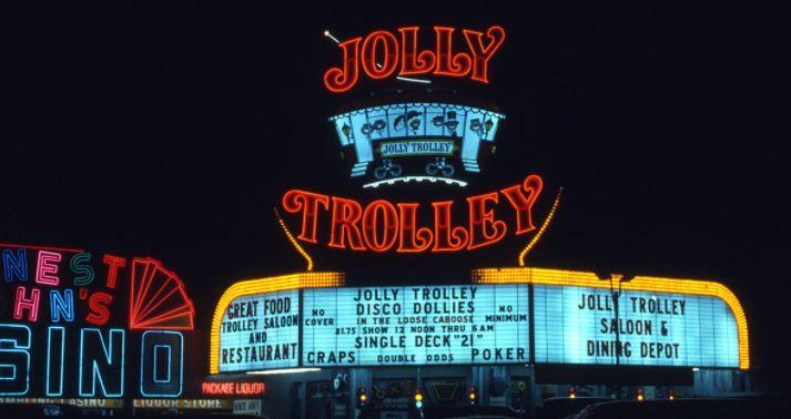 Jolly Trolley Casino 1979 Las Vegas Westfield