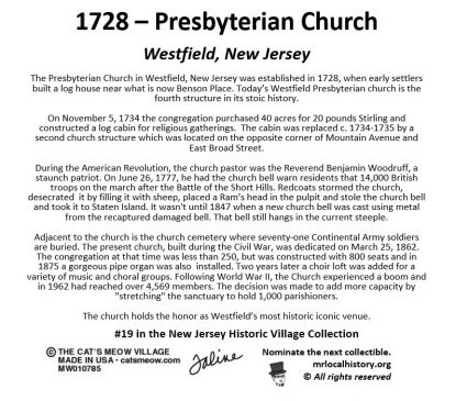 The Presbyterian Church in Westfield has been voted the most historic icon in Westfield.