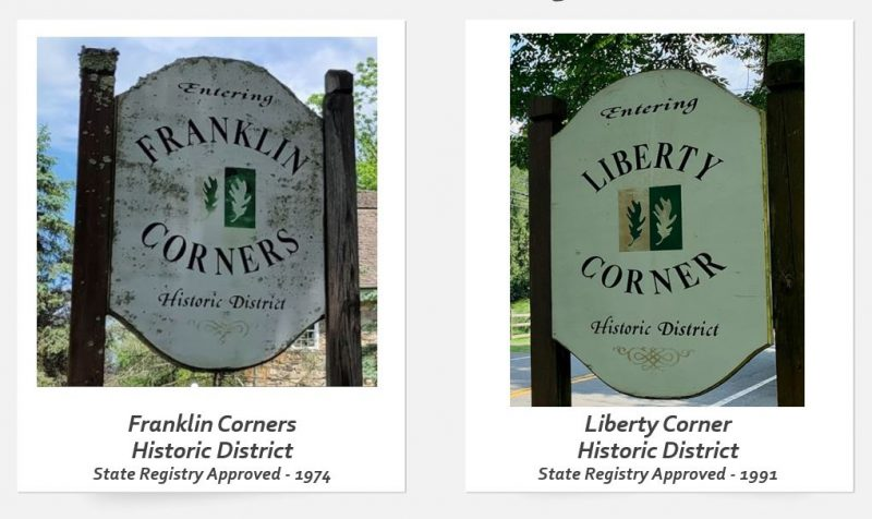 Bernards Township Historic Districts - Liberty Corner and Franklin Corners