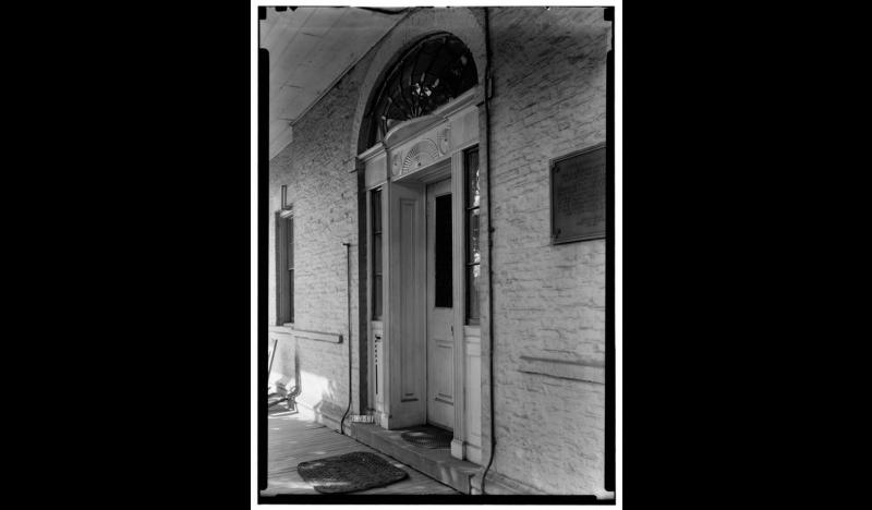 Propreitary-House-Library-of-Congress-1936-Entrance-Door