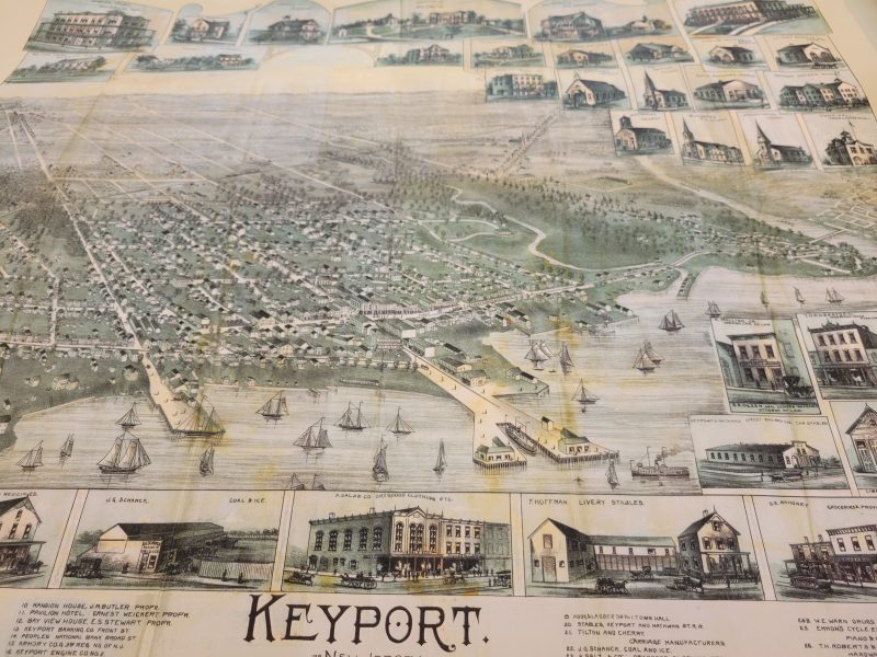 Historic Map of Keyport New Jersey