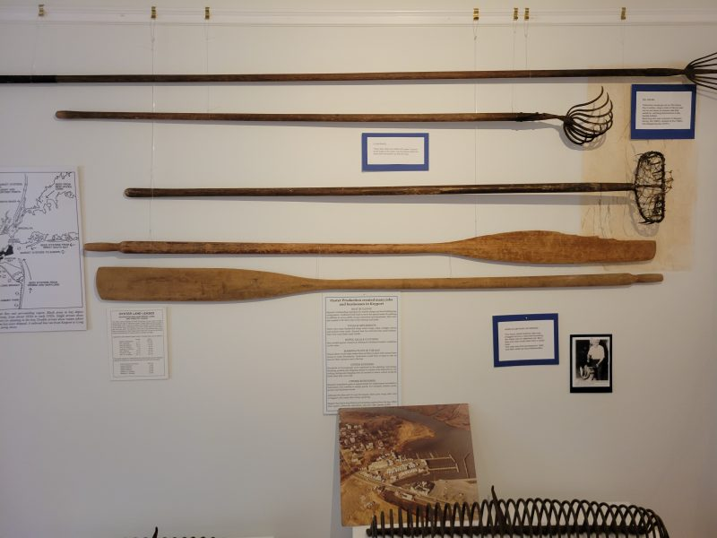 Keyport Historical Society display.
