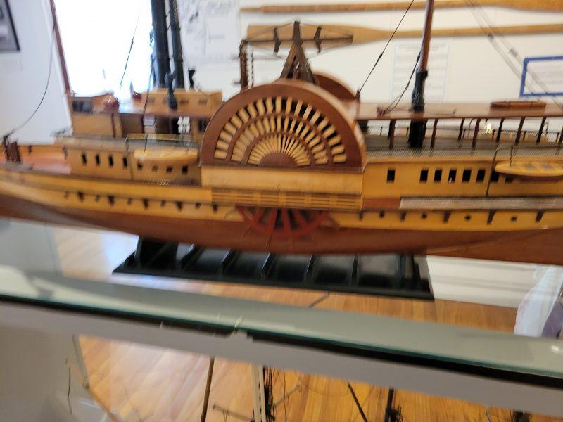 Keyport Steamship model