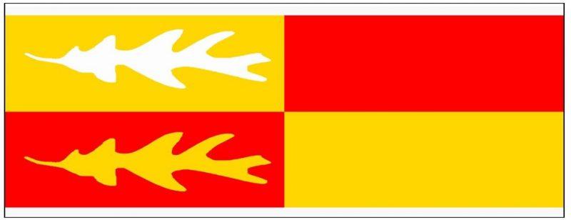 Banner Mr Local History Bernards Township Flag