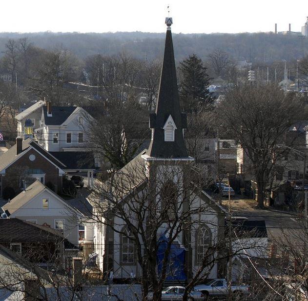First Presbyterian Church post Sandy
