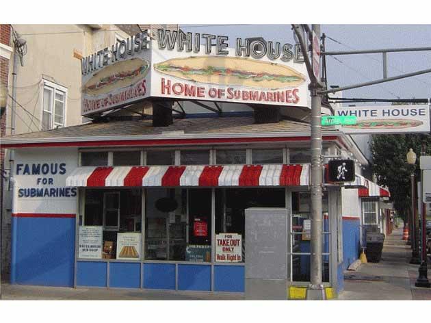 The famous White House Sub Shop on 2301 Arctic Ave, Atlantic City, NJ