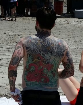 Some serious ink at The Race of Gentlemen.