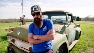 Aaron-Kaufman from Gas Monkey Garage has passed the 1/8th mile at Wildwood