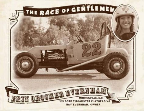 Erin was just one of the women to compete in The Race of Gentlemen. She's also Ray Evernham's wife!