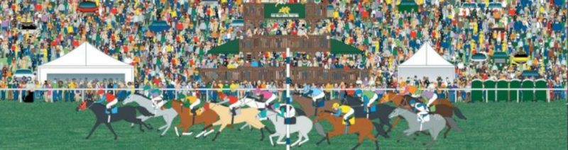 Far Hills Race Meeting Collectible - Mr Local History Project